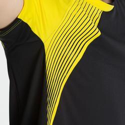 男款T恤530-黑黃配色