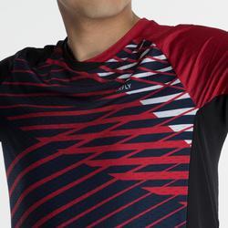T-Shirt 560 Homme - Noir/Rouge