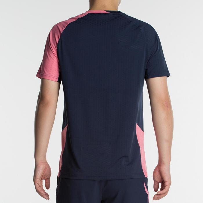 T-Shirt 560 - Marine/Rose