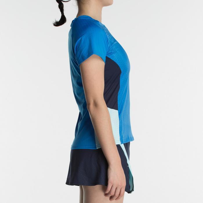 T-Shirt de badminton Femme 560 - Bleu