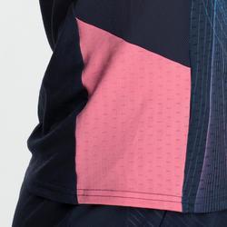 T-shirt 560 D marineblauw roze
