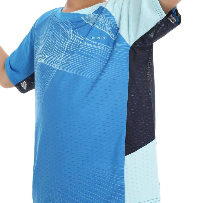 T-Shirt de badminton Junior 560 Lite - Bleu