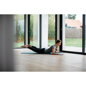 Esterilla Pilates Domyos 100 Confort Azul Petroleo Talla S 10 mm