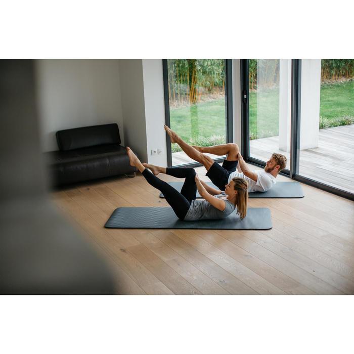 Pilatesmatte 500 Komfort Größe M 15mm grau