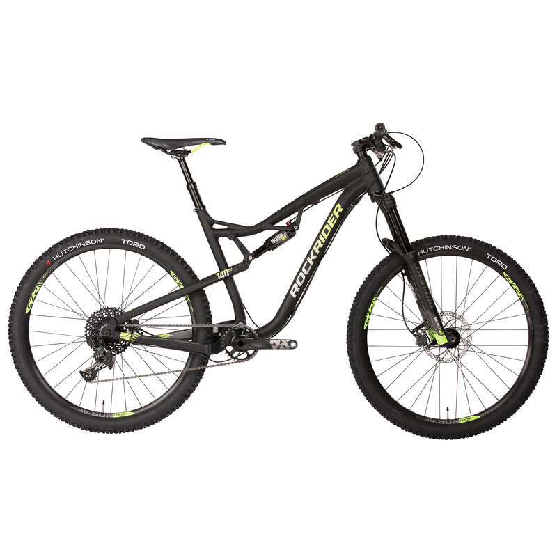 ADULT ALL MOUNTAIN MTB BIKE - Rockrider AM 100S Full suspension Mountain Bike - 27.5