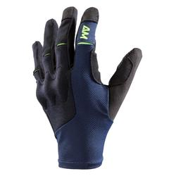 GUANTES CICLISMO MTB ROCKRIDER ALL MOUNTAIN AZUL