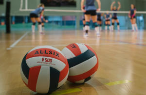 L'importance de bien gonfler son ballon de volley ball