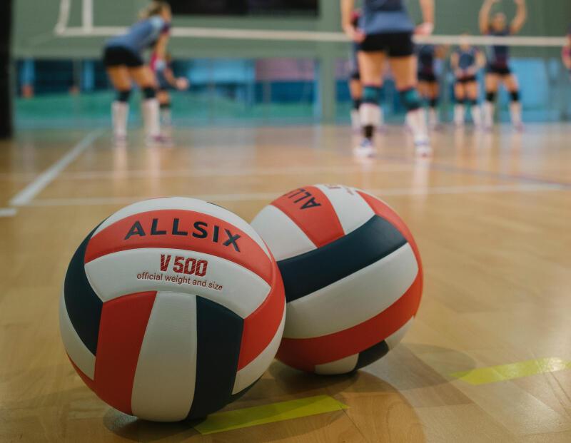 A importância de bem encher a bola de voleibol