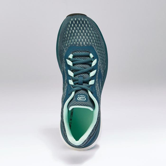 Zapatillas Running Kalenji Run Support Mujer Azul Petróleo