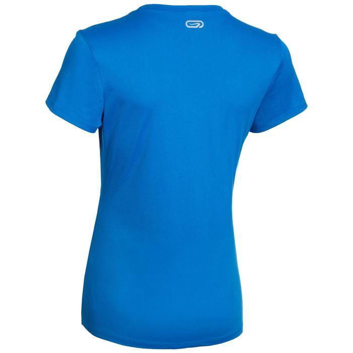 Atletiek T-shirt voor dames club personaliseerbaar blauw