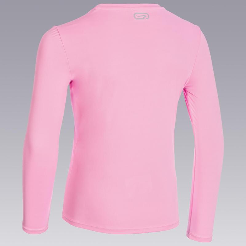 Sun Protect long-sleeved athletics T-shirt - pastel pink