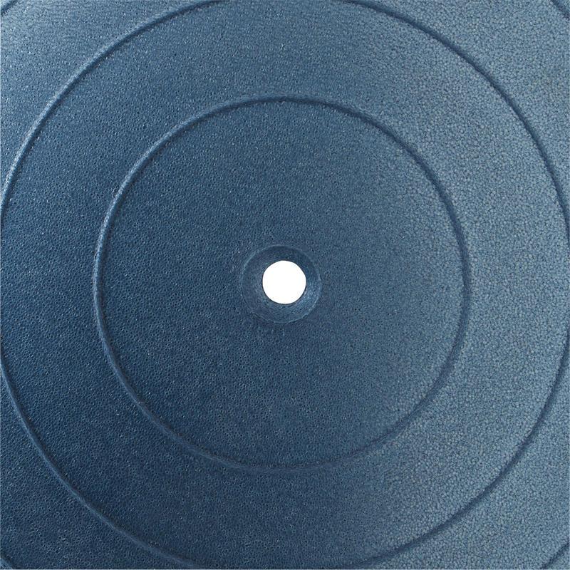Gymnastický míč Anti Burst na pilates modrý  1dcb9a645169