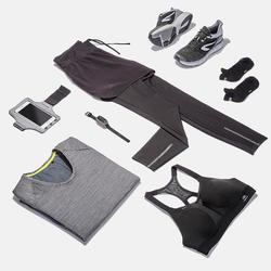 Run Dry+ 2-in-1 running Shorts/Tights - Black