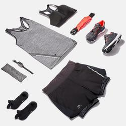 SHORT JOGGING FEMME RUN DRY+ 2 IN 1 NOIR