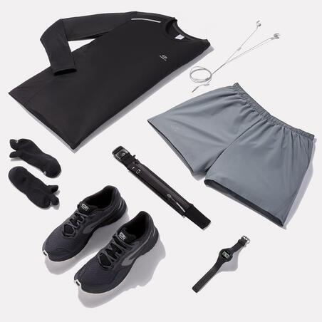Men's Running Shorts Run Dry - pebble grey