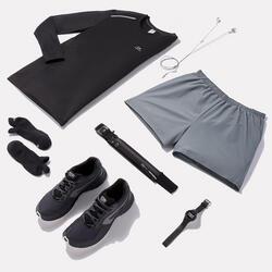 Hardloopshort Run Dry+ voor heren grijs