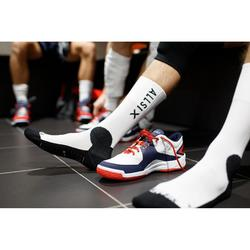 Volleyballsocken V500 Mid Herren weiß/navy