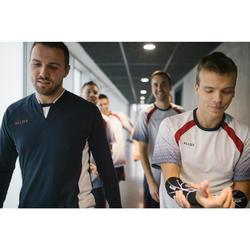 Volleybalvest heren VJA100 marineblauw wit