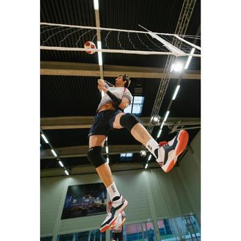Volleyballschuhe V500 Herren weiß/blau