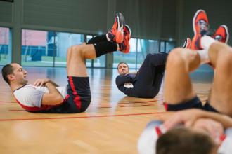 abdominaux volleyball allsix