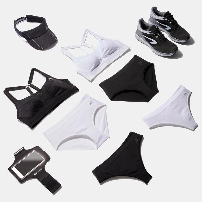 Sportbeha Sportance voor hardlopen zwart