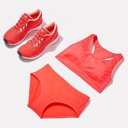 Ademende damesslip voor hardlopen fluoroze