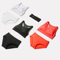 RUNNING BRIEFS BREATHABLE NEON CORAL PINK