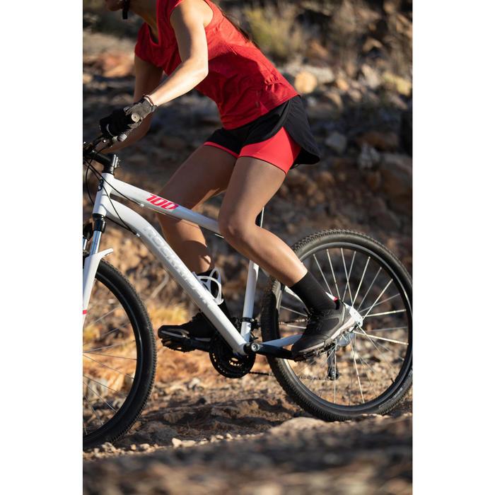 Fahrradschuhe MTB ST100 Damen grau