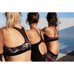 Braga Culotte de bikini de aquafitness mujer Meg Ron negro rojo