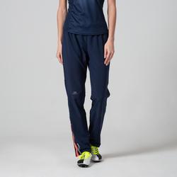 Atletiekbroek voor dames donkerblauw