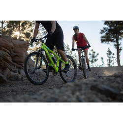 "MTB Rockrider ST100 27.5"" B'TWIN 3x7-speed mountainbike Geel"