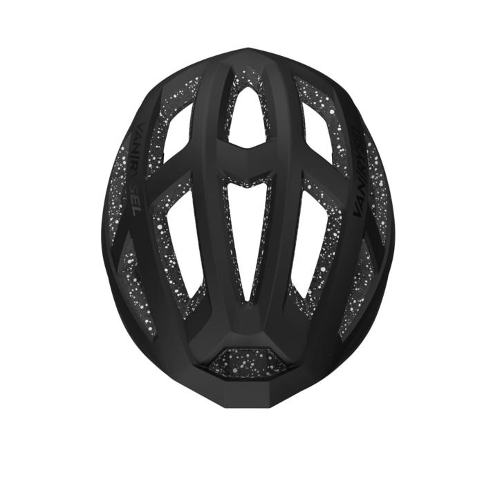 Racer Cycling Helmet - Spotted Black