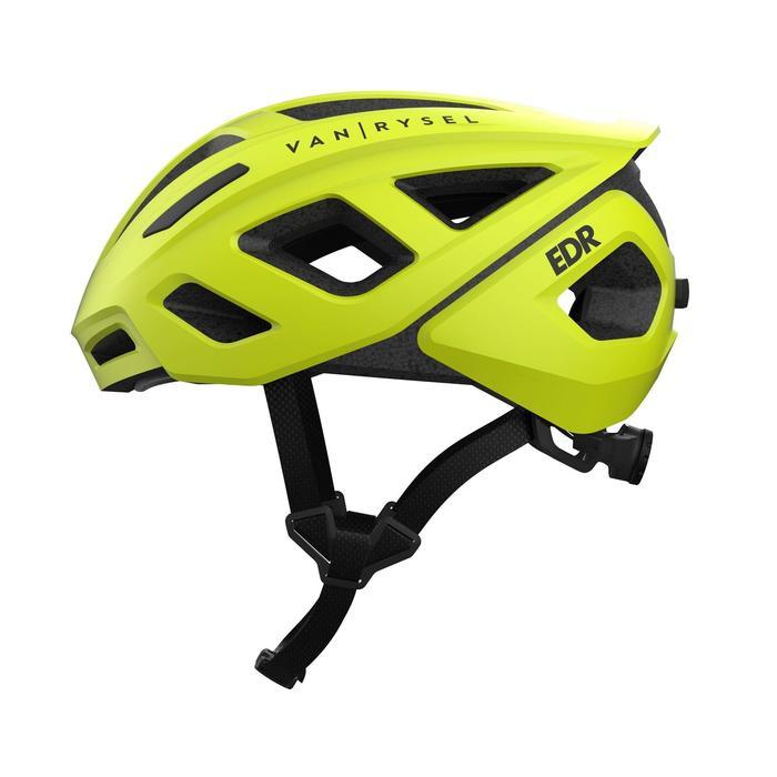 RoadR 500 Road Cycling Helmet - Neon Yellow