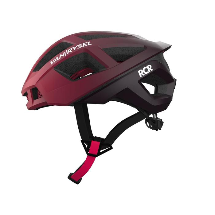 Fahrradhelm RR 900 schwarz/rot