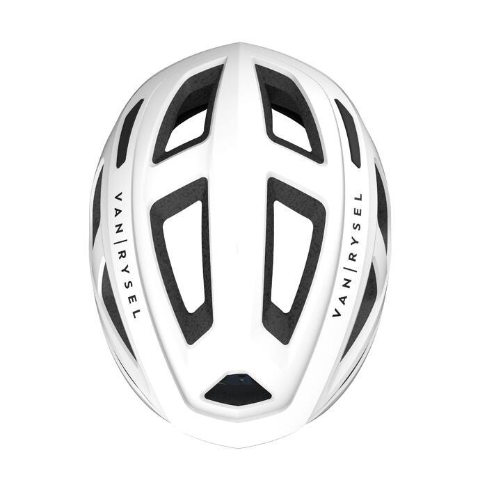 公路車安全帽RoadR 500 - 白色