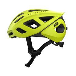 Casco ciclismo ROADR 500 giallo fluo