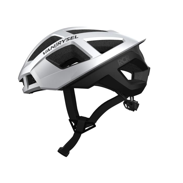 Racer Cycling Helmet - Chrome