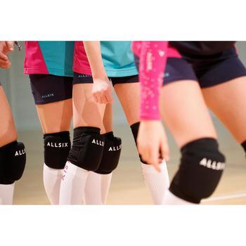Kniebeschermers voor volleybal V100 zwart