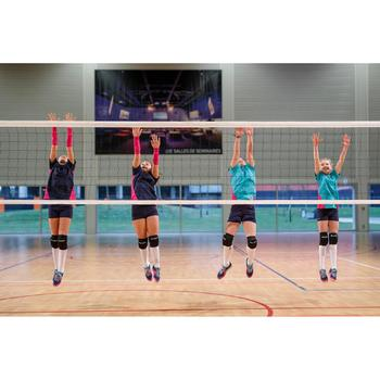 Volleyballshorts V100 Mädchen blau