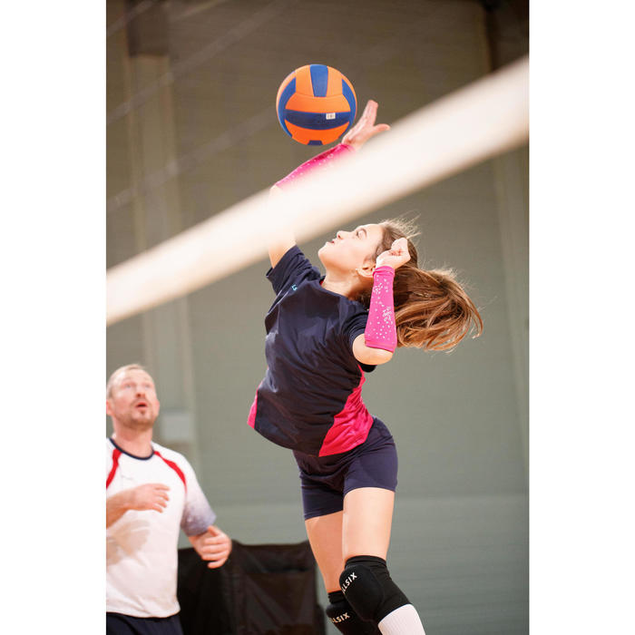 SHORT DE VOLLEY-BALL V100 FILLE NAVY