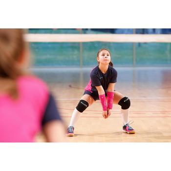 Unterarm-Schoner Volleyball Manschetten V100 schwarz