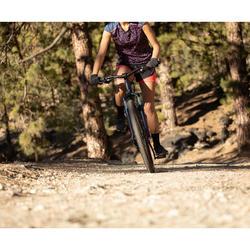 """Mountainbike voor dames ST 520 blauw/roze 27.5"""""""