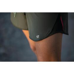 Kurze Radhose MTB-Short ST 500 Damen kaki