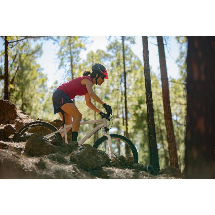 """Mountainbike ST540 MTB 27,5"""" Damen grau/rosa"""