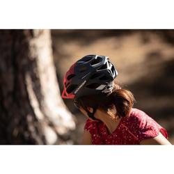 Fahrradhelm MTB ST 500 Damen blau/rosa