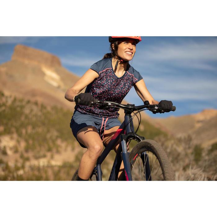 Fahrradschuhe MTB ST 500 blau