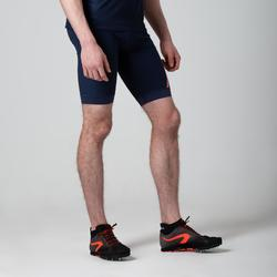 Laufshorts Kiprun Herren blau/orange