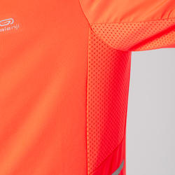 Laufjacke Warm-Up Herren orange