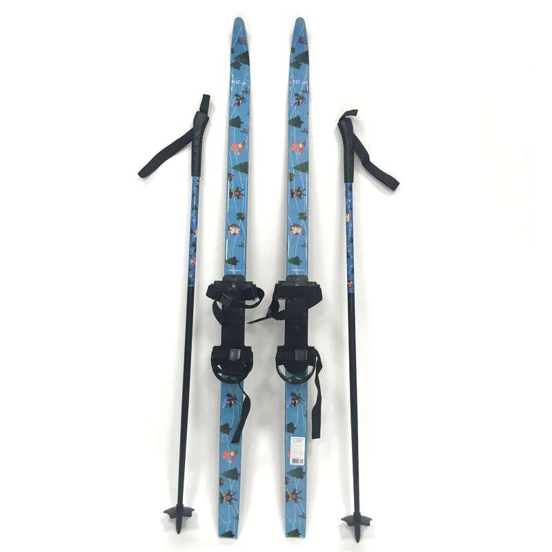 ДЕТСКИЕ БЕГОВЫЕ ЛЫЖИ Беговые лыжи - Детские лыжи SKI SOFT NLF - Семьи и категории