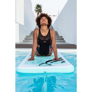 Maillot de bain une pièce d'Aquafitness femme Lena Juni noir